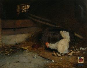 gaetano chierici buona matrigna pittura collezione museo borgogna