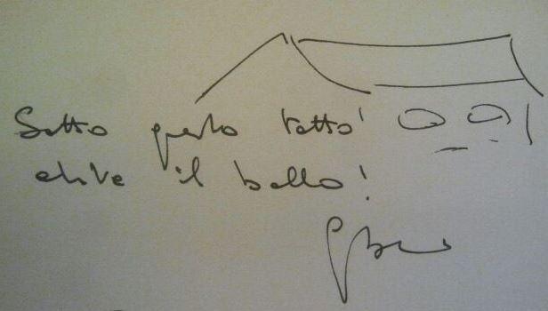 Giorgio Boatti dedica al Museo