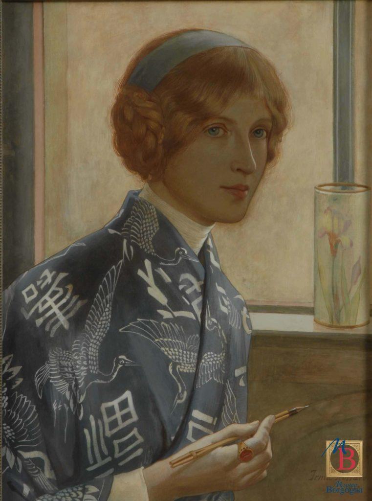 Irma Rossaro, Donna alla moda, Museo Borgogna, Vercelli