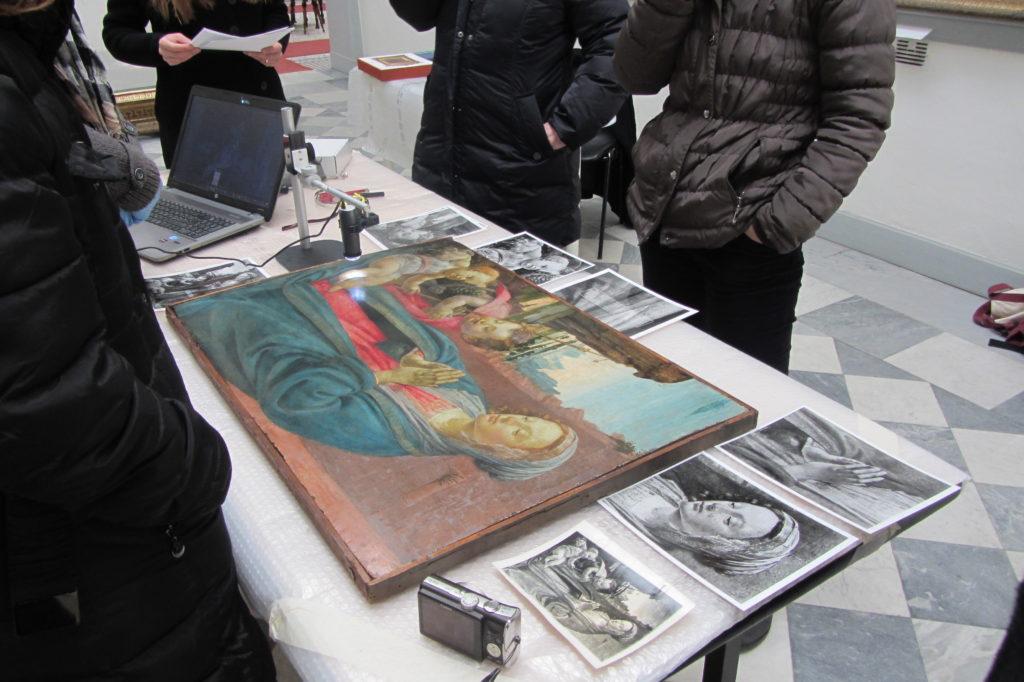 David Ghirlandaio Museo Borgogna restauro