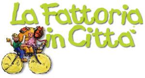 """Museo Borgogna, Vercelli, logo della manifestazione """"La Fattoria in città"""""""