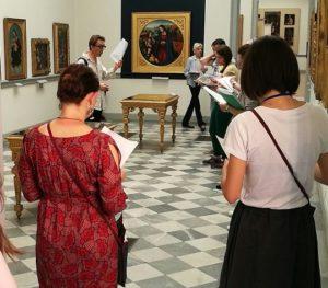 Prove in corso al Museo Borgogna
