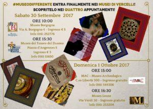 Vercelli, Museo Borgogna, Museo differente, Locandina